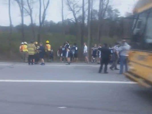 Students Suffer Burns Aboard a Thomas Built School Bus