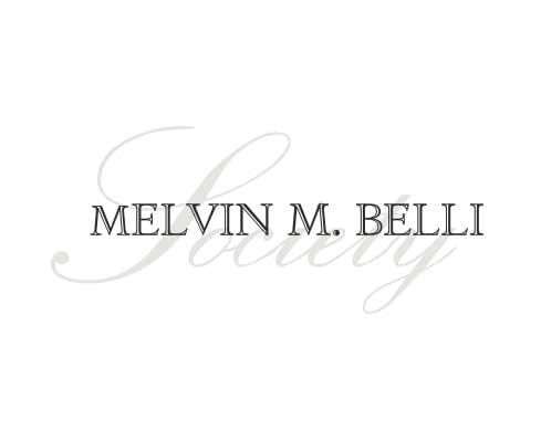 William K. Goldfarb, Melvin M Belli Society