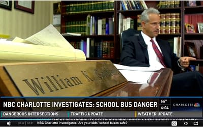 Extensive Local Coverage of School Bus Safety – William speaks with Michelle Boudin with WCNC
