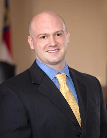 Alex Woodyard Attorney Courtroom
